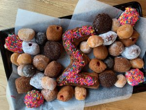 Doughnut catering trays available