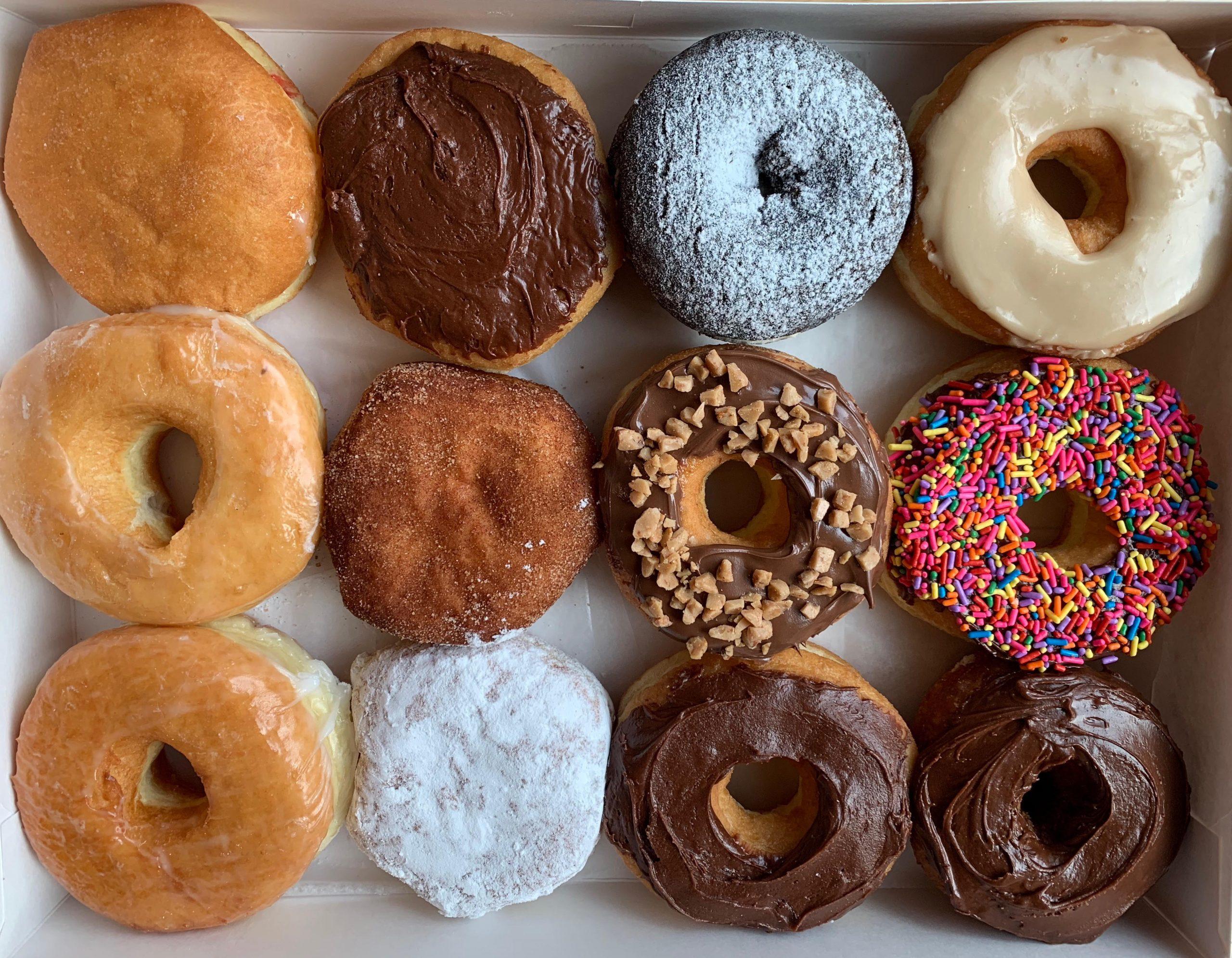 Making the doughnuts in Arlington!