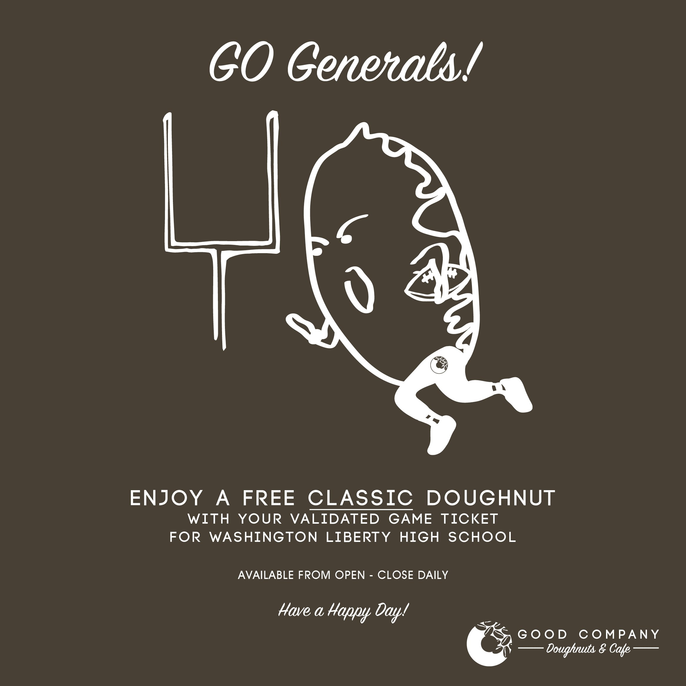 Go Generals!