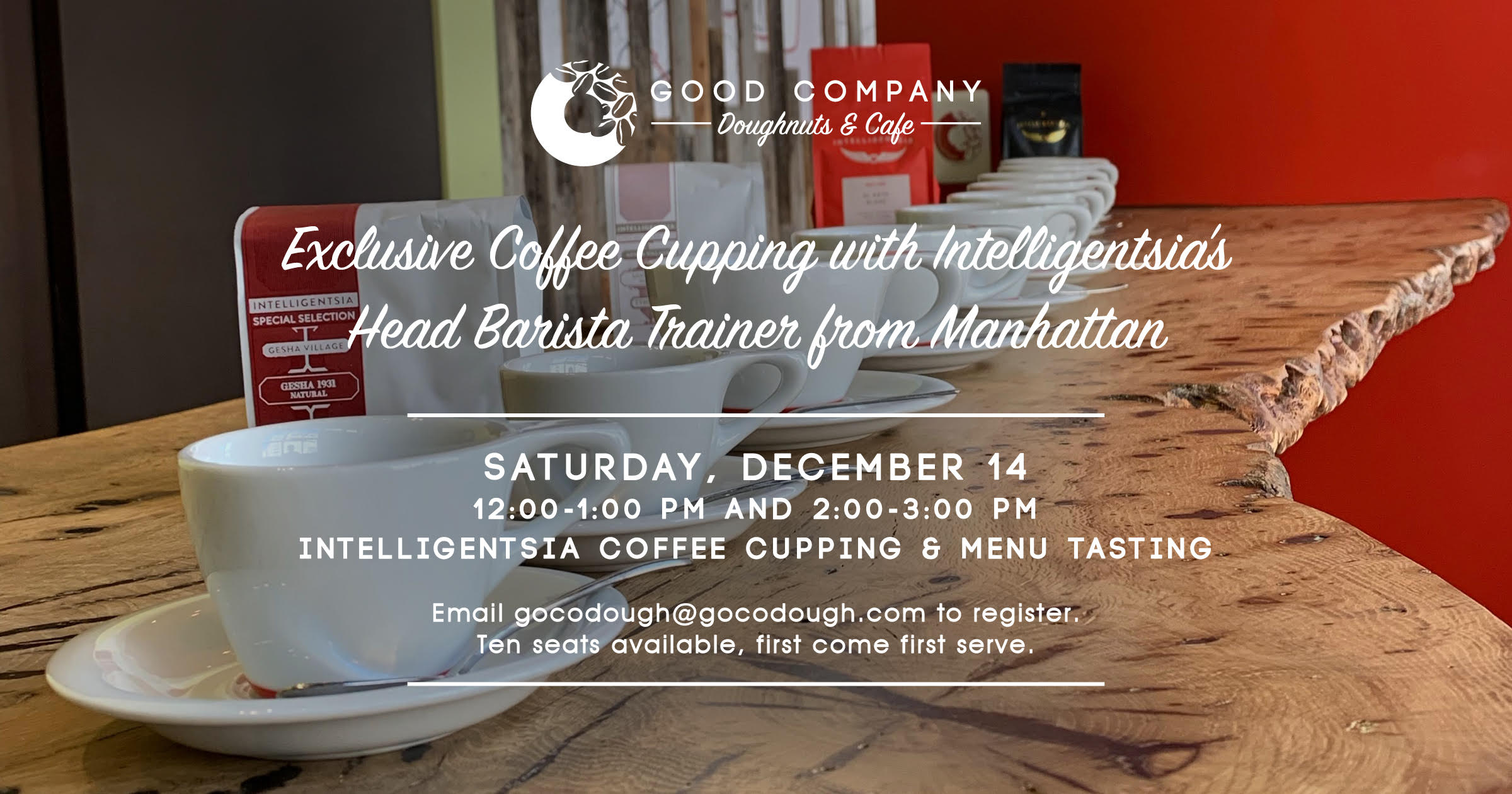 Coffee Cupping at Good Company Doughnuts & Cafe