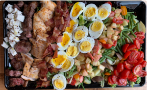 cobb salad tray large