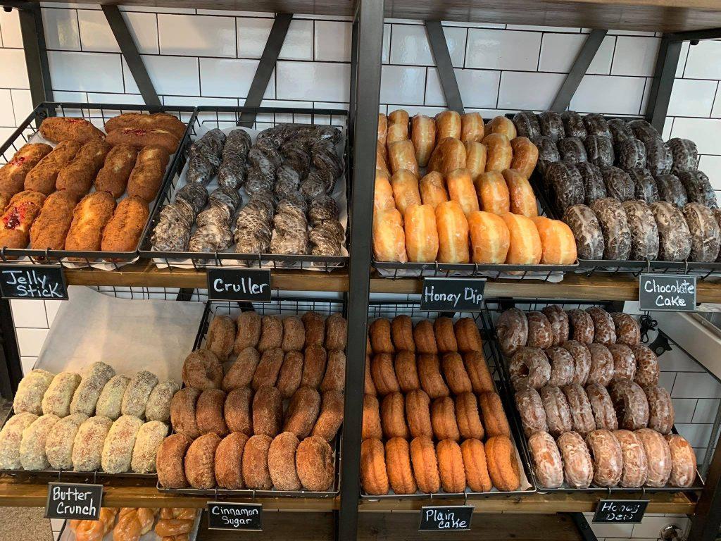 Eat breakfast at Good Company Doughnuts & Cafe