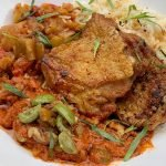 Chicken & Rice with Roasted Peppers
