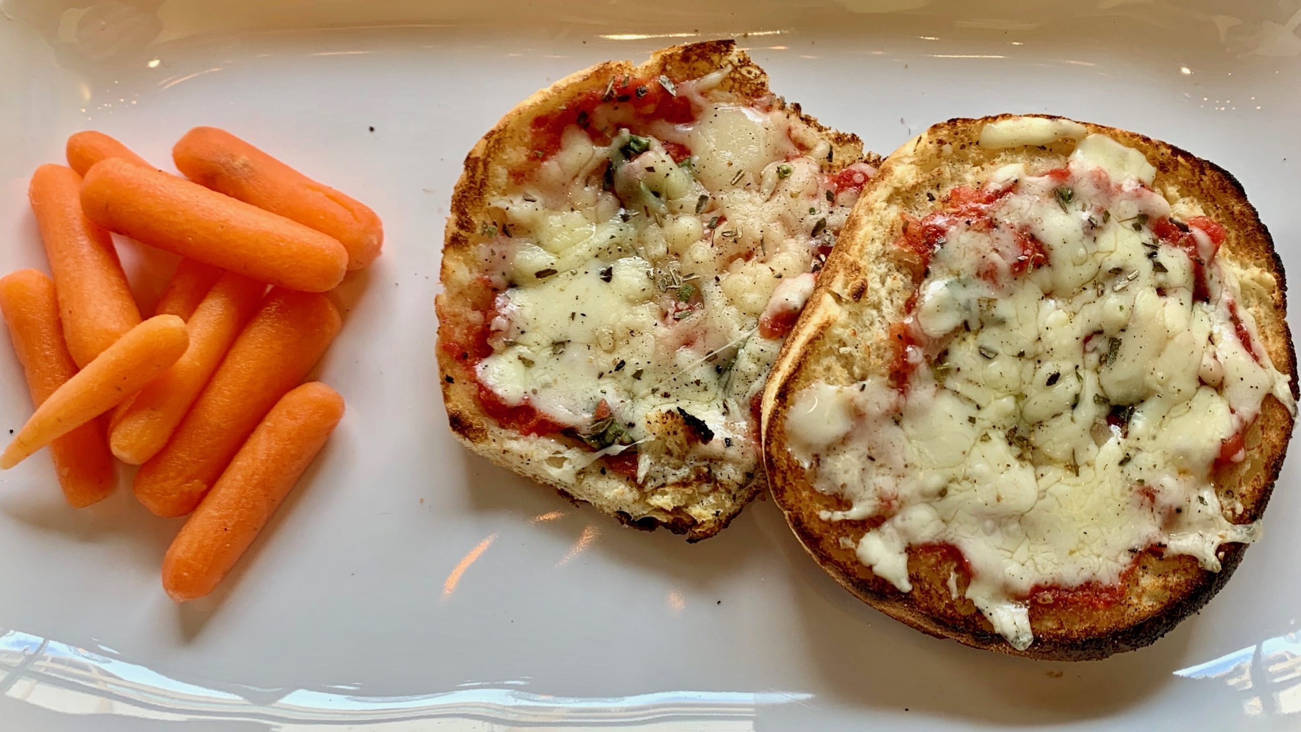 Kids English Muffin Pizza