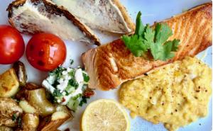 Salmon & Eggs