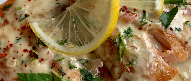 Salmon & Lemon Cream