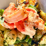 Shrimp & Potatoes in Basil Pesto