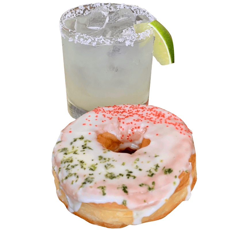Margarita and Donut